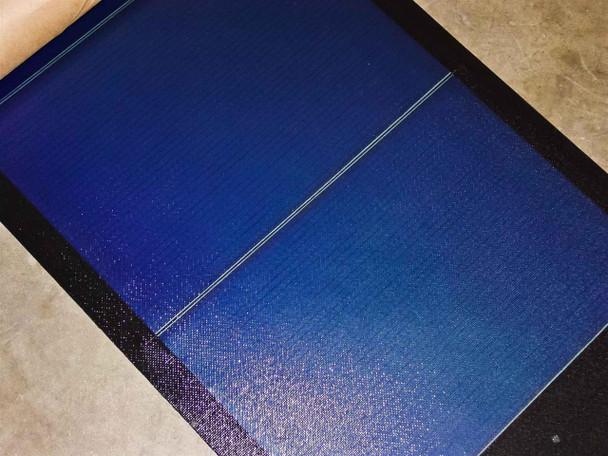 Uni-Solar PVL-68B 68 Watt Flexible Amorphous Solar Panel - SOLDER POINT