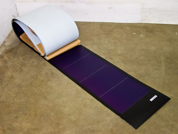 "Uni-Solar PVL-128 128W 24V UL LISTED Flexible Solar Panel Grid-Tie - 4"" Wires"