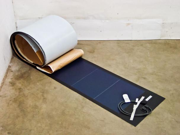 Uni-Solar PVL-136 Watt PowerBond Flexible 24V Amorphous Solar Panel MC3