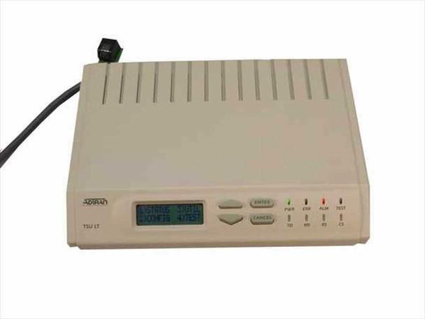 Adtran TSU 2nd Gen. LT 1200.060L2 T1/FT1 DSU/CSU with LCD 1202.060L1