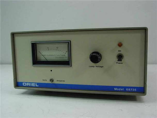 Oriel 68735 DC Regulated Power Supply - Does Not Output - As-Is / For Parts