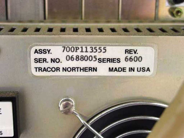 Tracor Northern Spectrometer Controller / Intensifier with PC  TN-6600