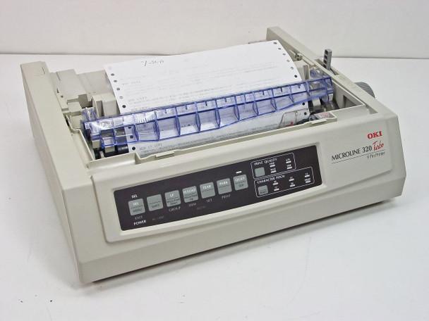 Okidata Microline 320 Turbo Dot Matrix Printer GE7000A - Parallel Port - AS IS