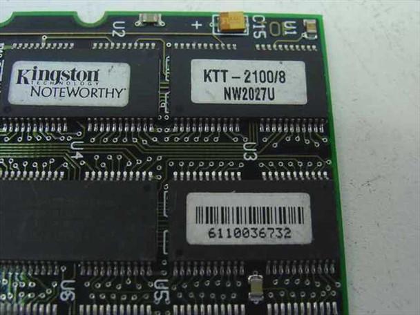 Kingston 8MB Toshiba Laptop Memory KTT-2100/8