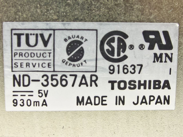 "Toshiba 1.44 MB 3.5"" Floppy Drive ND-3567AR"