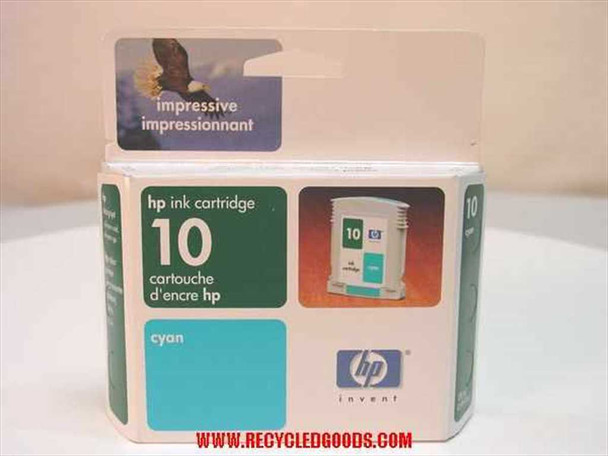 HP HP ink cartridge 10 cyan (C4841A) - AS IS