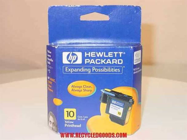 HP Ink 10 yellow for 2000c / 2500c Printer (C4803A) - AS IS