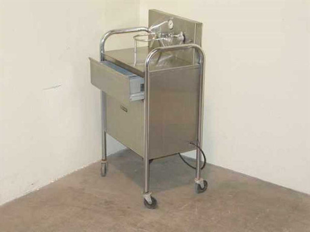 Everest & Jennings Stainless Steel Cart w/ Drawer & Pump FA 250