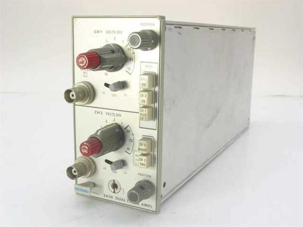Tektronix 5A38 Dual Trace Amplifier Oscilloscope Plug-In Module