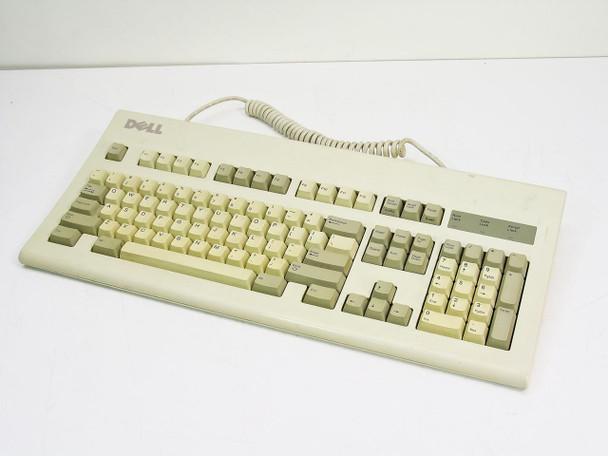 Dell 26756 AT101R New Logo PS/2 Keyboard GYUR05SK - Vintage