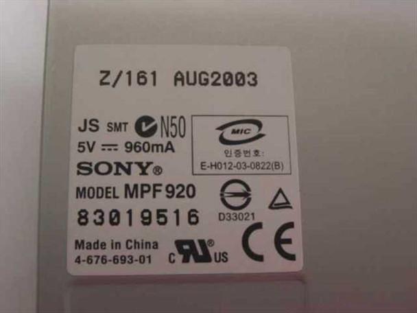 "Sony 1.44 MB 3.5"" Floppy Drive (MPF920)"