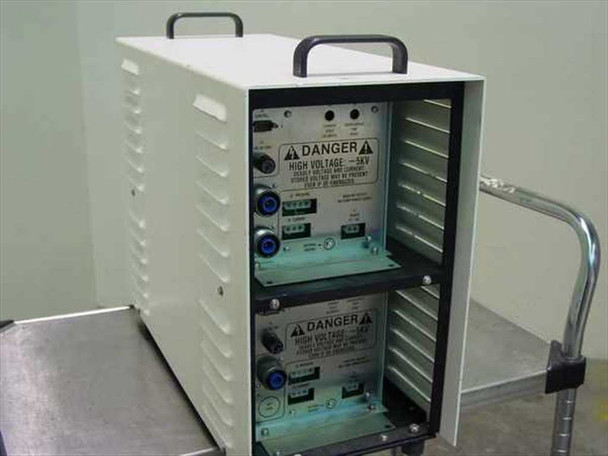 Amray 124-002 Dual Ion Pump Power Supply 2x 5kV Each - 3 Outputs in Rack Case