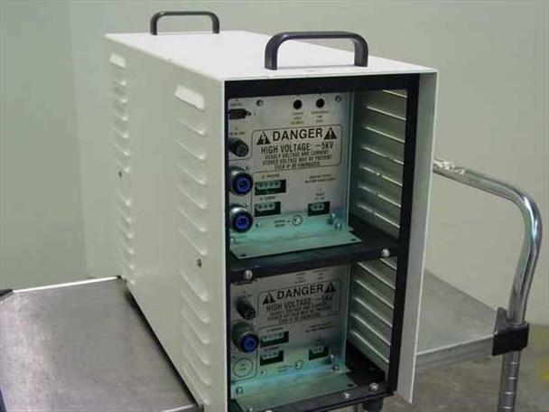 Amray 124-002 Dual Ion Pump Power Supply's 5 kV ea