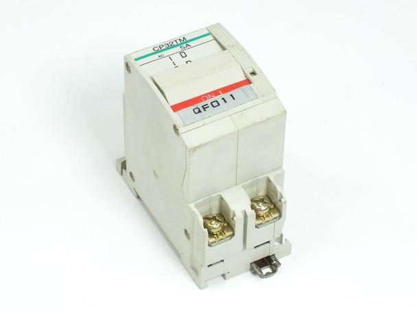 Fuji Electric Circuit Protector / Breaker 5 Amp 2-Pole CP32T-M005 CP32TM/5
