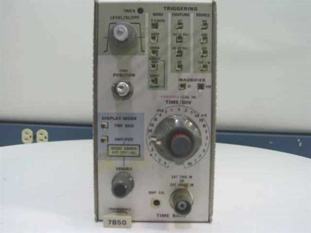 Tektronix 7B50 100MHz Timebase Plug-In - As Is