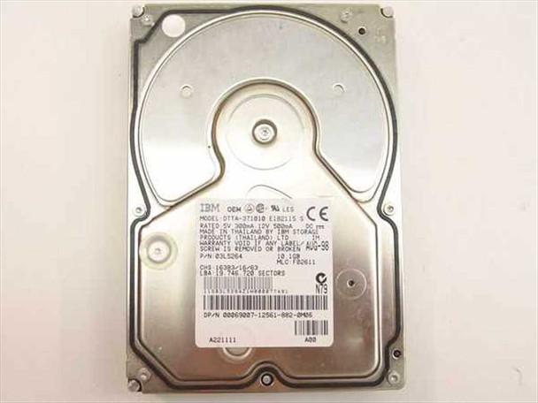 """Dell 10.1GB 3.5"""" IDE Hard Drive - IBM 03L5264 69007"""