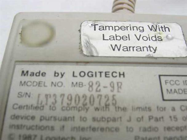 Logitech MB-82-9F 2-Button Serial Mouse - DEXXA
