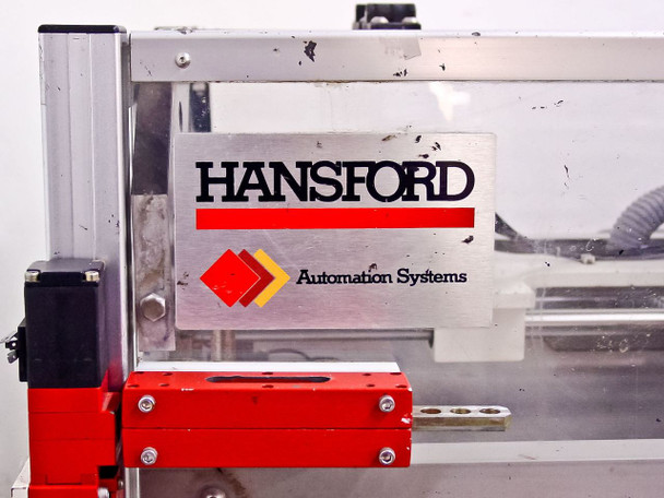 Hansford Automation Degas Epoxy Boat Loader-Pneumatic Motion Table w/Uitcor PMD AS-IS