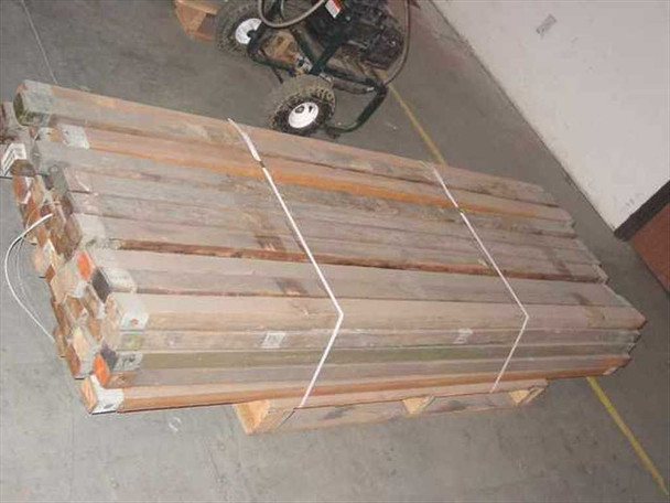 Tent Ridge Beam Pole - Wood with Steel Reinforced USA Military