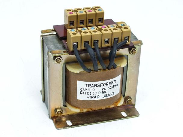 Hirao Denki Co Transformer  72 VA