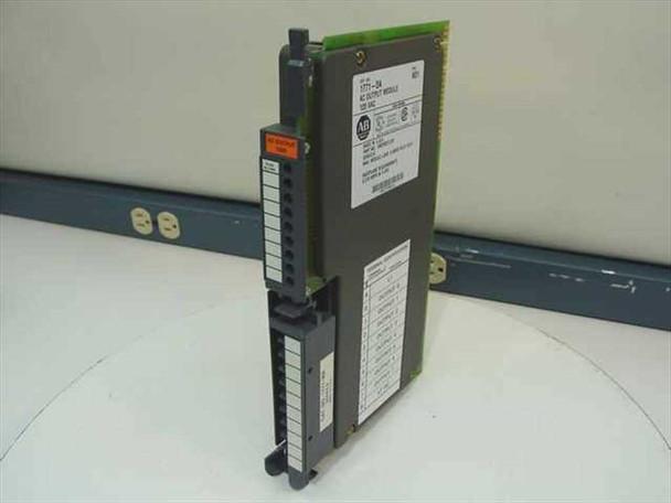 Allen-Bradley AC Output Module 120VAC (1771-0A)