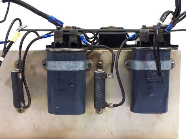High Voltage Heat Sink with GE 1UF Capacitors Dale 0 1U Resistors M-8010AB