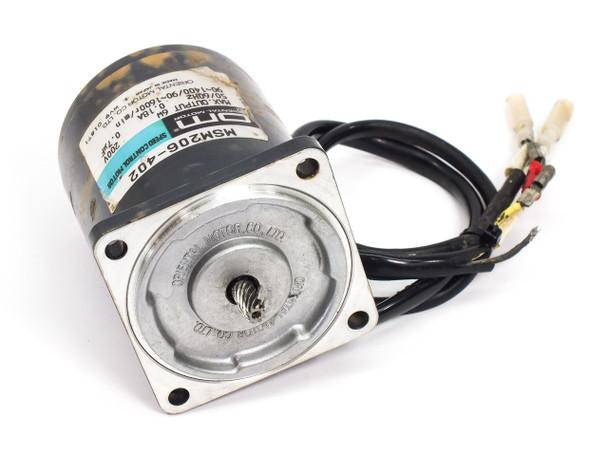 Oriental Motor MSM206-402 Speed Control Motor 6W 1600RPM 200V
