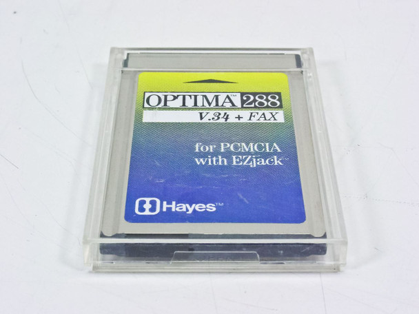 Hayes OPTIMA 288 V.34 & Fax for PCMCIA - Laptop (534PAM)