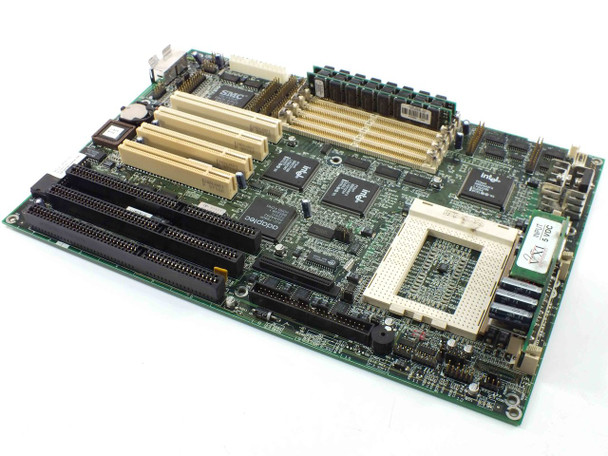 Acer 48.59101 Socket 8 Motherboard 3 ISA 4 PCI Slots w/RAM and VRM - AS IS