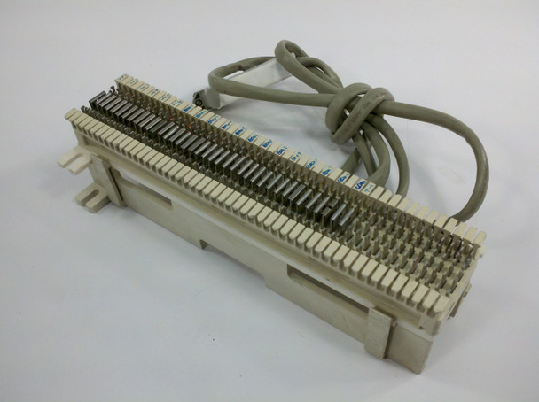 Siemon Co 66MI-50 50 Pair Punch Down Patch Panel Telco Termination Block 90II