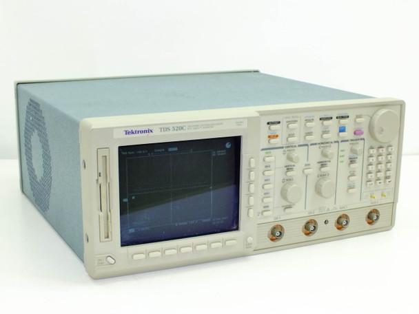 Tektronix TDS520C 500MHz Two Channel Digitizing Oscilloscope Digital Screen