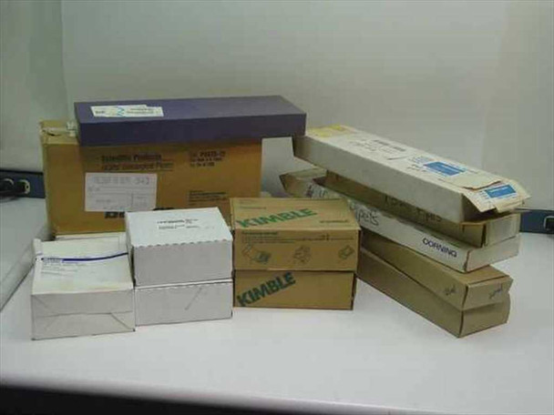 Various Pipets in boxes (11 types) (Glass)
