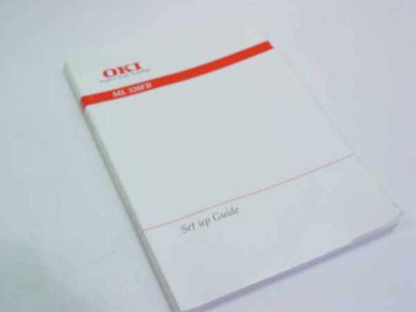 Okidata M-521223-1A ML 320FB Set Up Guide / Manual