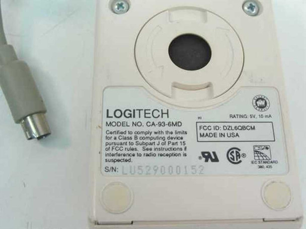 Logitech Mouse PS/2 Three Button (CA-93-6MD)