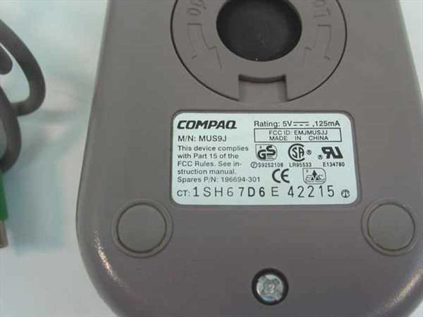 Compaq Mouse PS/2 Two Button - MUS9J 196694-301