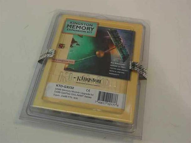 Kingston 32MB Memory Kit for Dell OptiPlex GXiL M MT KTD-GXI/32
