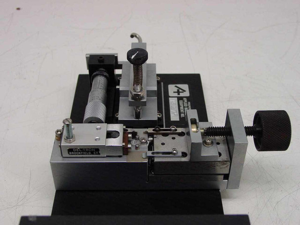 Applied Magnetics Custom Precision Slide with Micrometer Adjustment - AS IS