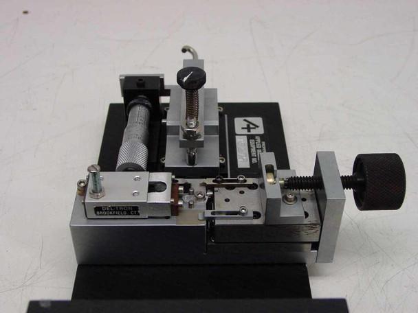 Applied Magnetics Custom Precision Slide with Micrometer Adjustment