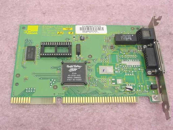 3COM 3C509B-TP  3Com Etherlink III 16-bit Network Card