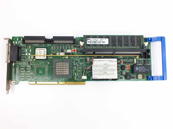 Dell 44TFX PowerEdge 2-Channel SCSI RAID Controller 128 MB RAM