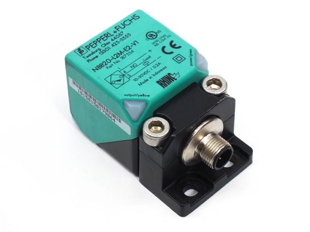 Pepperl Fuchs NBB20-L2M-E2-V1Inductive Proximity Sensor DC - 20 mm 187534
