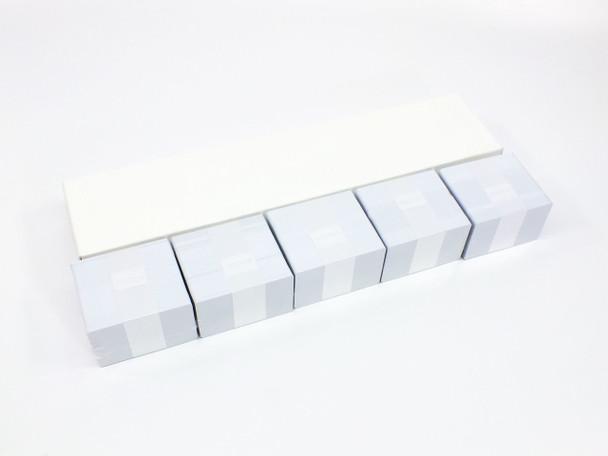 Zebra CR80-030 500 Count White PVC Plastic Blank Photo ID Cards Sealed Packs