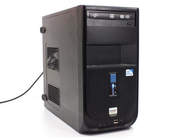 Desktop PC  Computer Intel Dual Core 2.70 GHz 160 GB HDD 2 GB RAM DVD-RW/DL