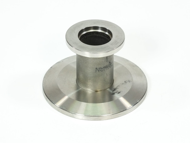 Stainless Steel Vacuum  Flange Adapter Fitting DN16KF to DN40KF 33mm Long