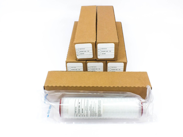 """Lot of 6 FCWNF10S2780  Water Filter 10"""" DOE Silicon Gasket NEW"""