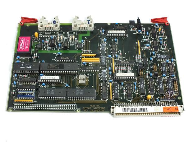 Netstal SLA Sycap Bitbus Board 100.240.7780 DiskJet Injection Molder 600/110