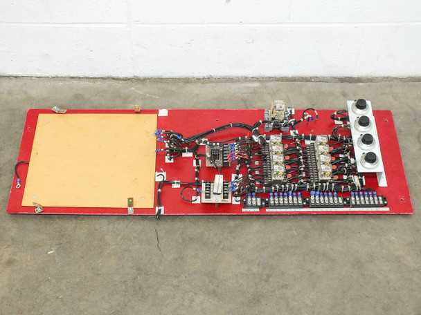 Volkmann Electrical Panel  w/ Spectrol Reliance Potentiometers & Eagle Relays