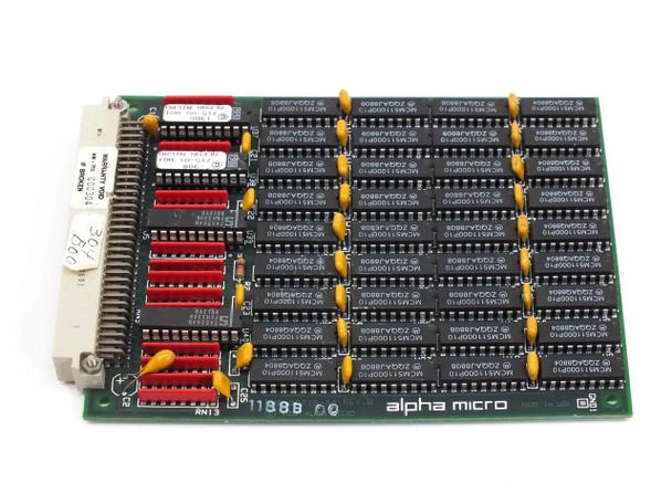 Alpha Micro AM-715  4MB Memory Expansion Board REV B DWB-00715-10 DWX-00715-10