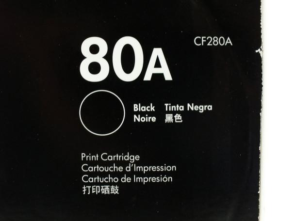 HP CF280A  80A Black Original LaserJet Toner Cartridge