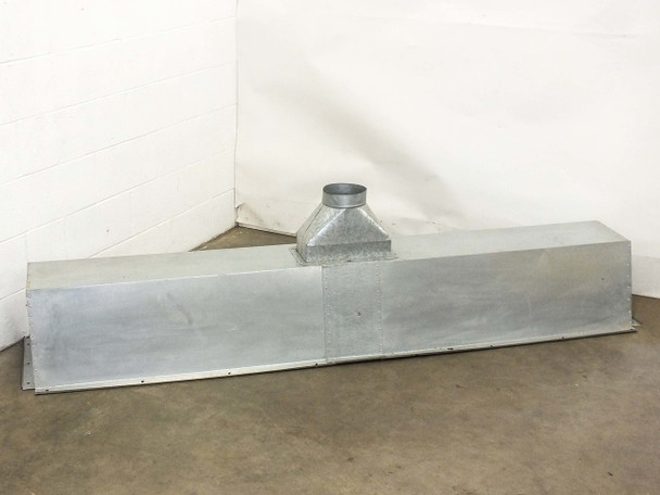 """Aluminum 90"""" x 18.5"""" x 22.5""""  Clean Room Air Duct Housing"""